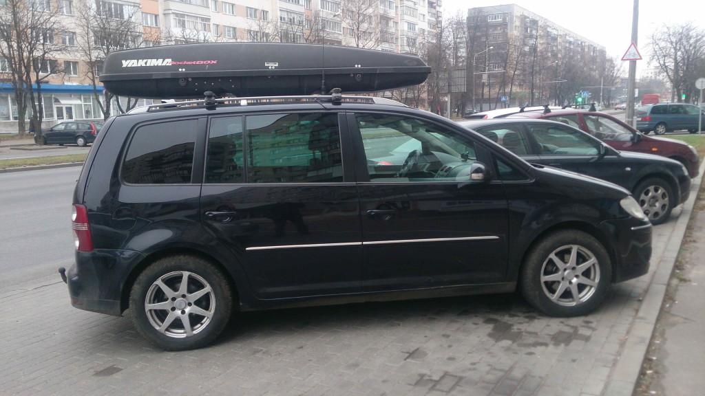 Прокат автобагажника Минск